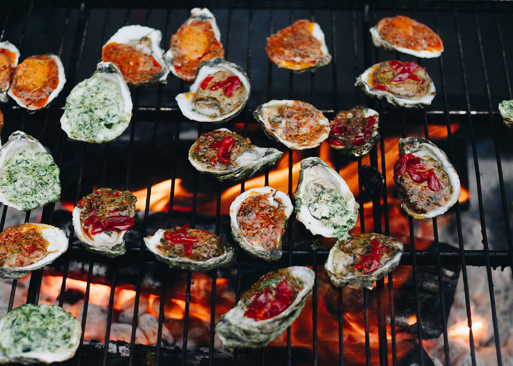 Grilled Oysters